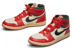 MJ's First Pair of Jordan 1's Most Expensive Sneakers Ever Sold