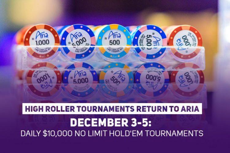 Aria Poker High Roller tournament, December 2020