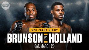 Kevin Holland Can Maintain Winning Streak Against Derek Brunson at UFC Vegas 22