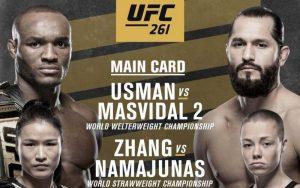 Kamaru Usman Can Retain Title With Decision Win Over Jorge Masvidal at UFC 261