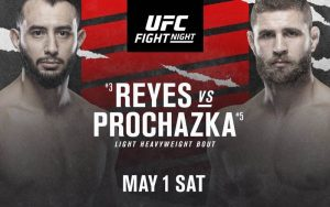 Dominick Reyes Can Bounce Back With Win Over Jiri Prochazka at UFC Vegas 25