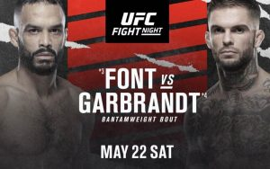 Rob Font Can Move Closer to Title Fight with Win Over Cody Garbrandt at UFC Vegas 27