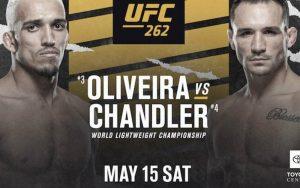 UFC 262: Charles Oliveira Vs Michael Chandler – Fighter Stats, Preview & Picks