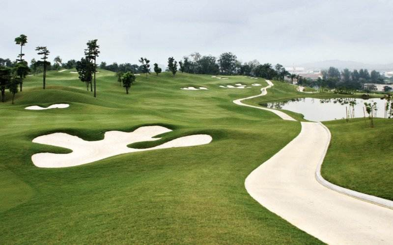 Palm Course, Saujana Golf Club, Kuala Lumpur, Malaysia