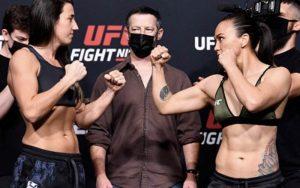 UFC Vegas 26 Fight Results & Statistics – Rodriguez vs Waterson