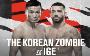 Greater Experience Can Help Chan Sung Jung to Edge Fight with Dan Ige at UFC Vegas 29
