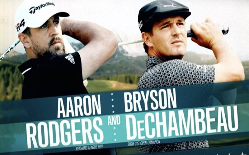 Aaron Rodgers & Bryson DeChambeau - The Match IV