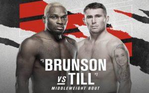 UFC Vegas 36: Darren Till Win Over Derek Brunson Puts Him in Contention for Middleweight Title Fight