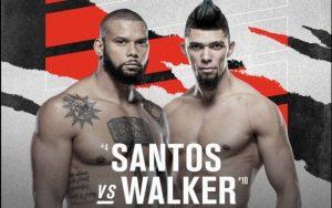 Thiago Santos Looks to End Losing Skid Against Big-hitter Johnny Walker at UFC Vegas 38