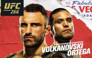 Featherweight Champion Alexander Volkanovski Favorite for 2nd Title Defense Against Brian Ortega at UFC 266